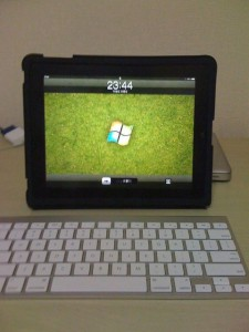 ホーム画面をWindowsにしてみた
