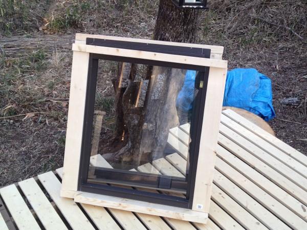 出窓の枠。一個で7000円ぐらい。
