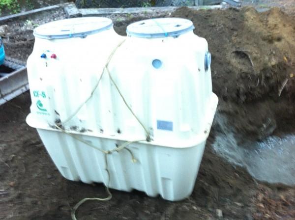 田舎の下水処理を支える浄化槽