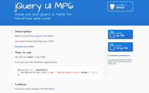 jQuery UI MP6