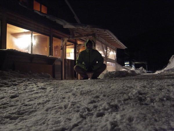 赤岳鉱泉は夜も賑わってました