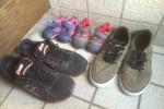 この間、子供の靴買いました