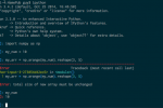 Pythonのインラタクティブシェル、IPython