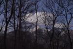 破滅小屋から見える甲斐駒ケ岳。美しい。