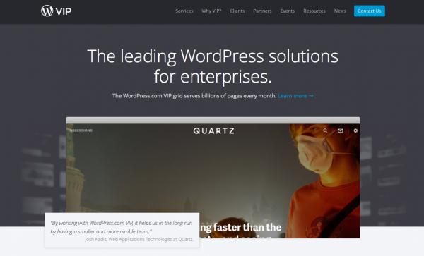 WordPressの開発元が提供する WordPress VIP