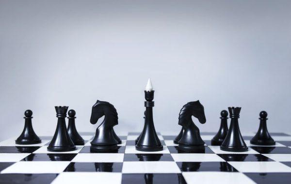 14739056 - black chess team